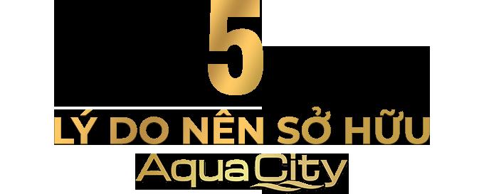 5 lý do sở hửu aqua city