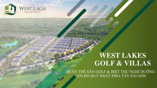 Dự án West Lakes Gofl & Villas