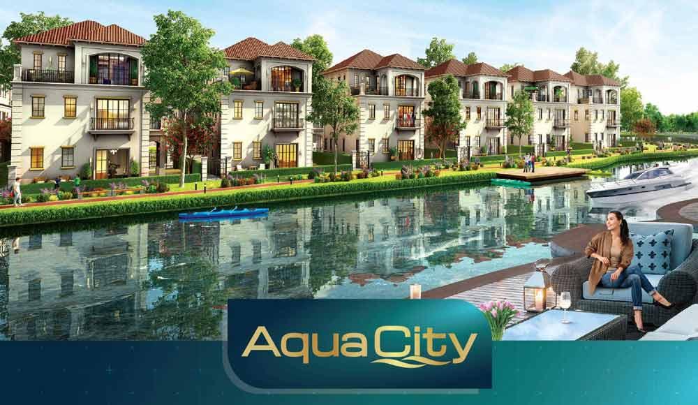 Biệt thự view song aqua city