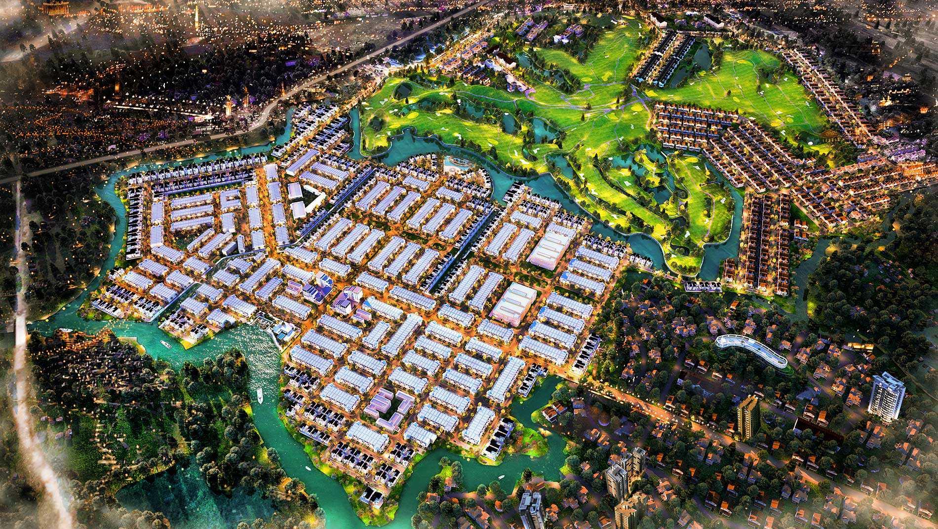 Phối cảnh mơ ước của dự án Biên Hoà New City