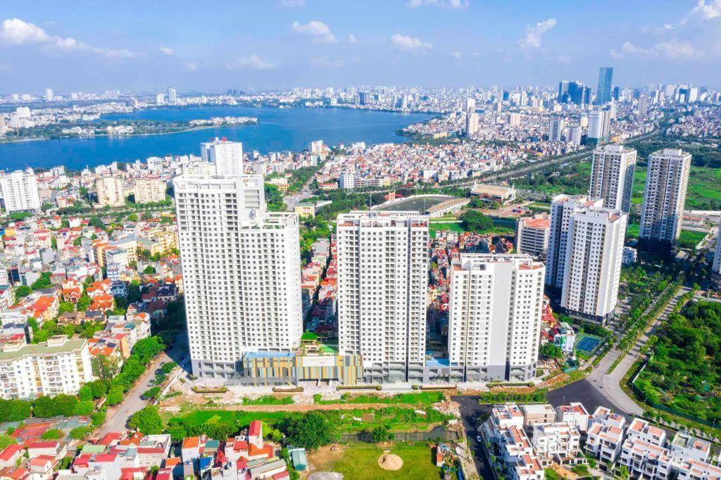 Tập trung bất động sản thương mại cho thuê