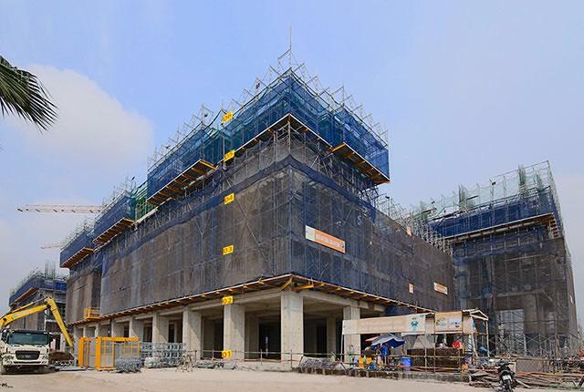 Tiến độ dự án Q7 Saigon Riverside Complex
