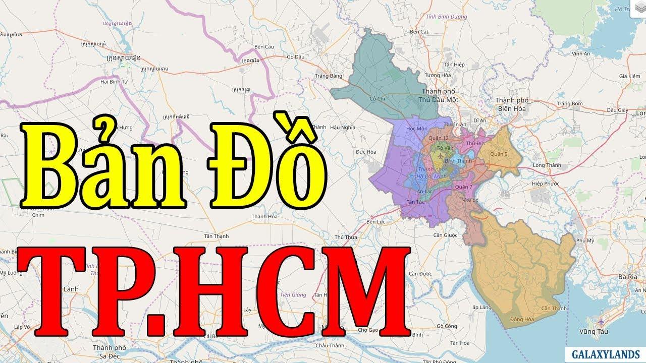 bản đồ quận tphcm