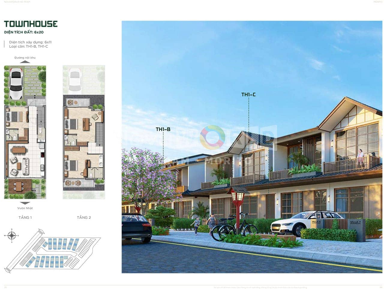 Townhouse 6x20