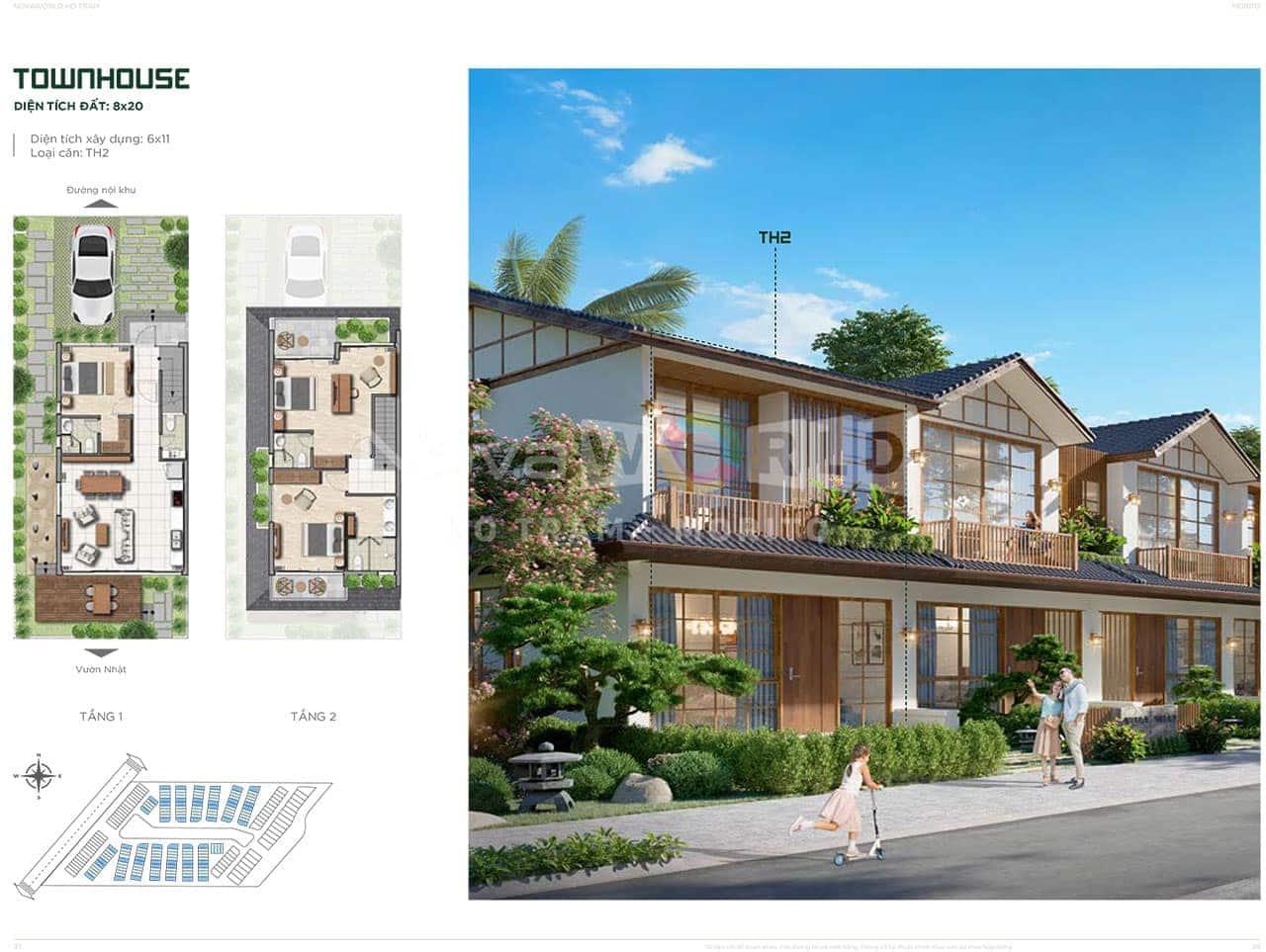 Townhouse 8x20